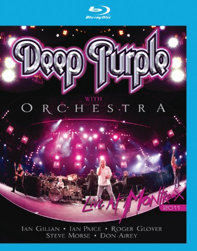 Blu-ray : Deep Purple - Deep Purple With Orchestra: Live in Montreux 2011