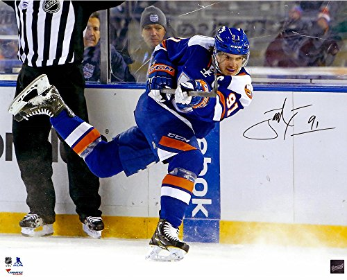 John Tavares New York Islanders Autographed 16'' x 20'' Stadium Series Photograph - Frameworth - Fanatics...