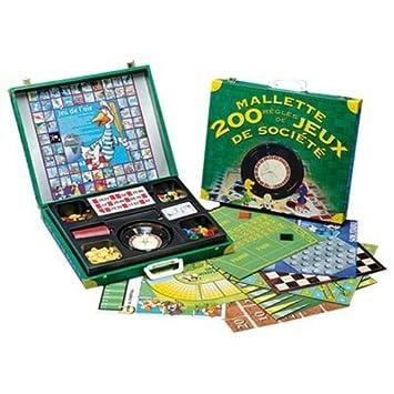 Ferriot Cric - 1536 - Jeu de Société - Mallette - 200 Jeux  Amazon ... 8777a96b69cb