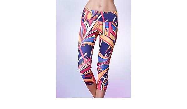 Ch & Ch de las mujeres yoga pantalones y absorción ...