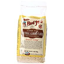 Bob's Red Mill Super-Fine Natural Almond Flour, 16-Ounce Package -packaging may vary