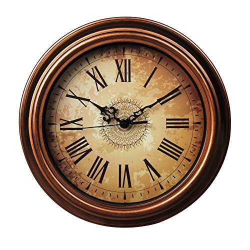 SonYo Silent Non-ticking Round Wall Clocks  Decorative Vinta