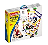 Quercetti 108-Piece Double Spiral Marble Run Building Set