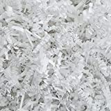 Crinkle Cut Paper Shred Filler (1 LB) for Gift Wrapping & Basket Filling - White | MagicWater Supply: more info