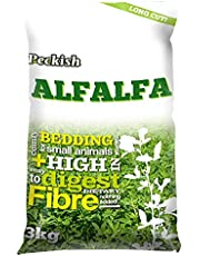 Peckish Alfalfa Long Cut Bedding 3kg Small Animal Bedding