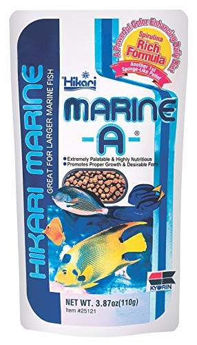 Buy Hikari Marine Fish Food For Larger Marine Fish 110g Online At Low Prices In India Amazon In