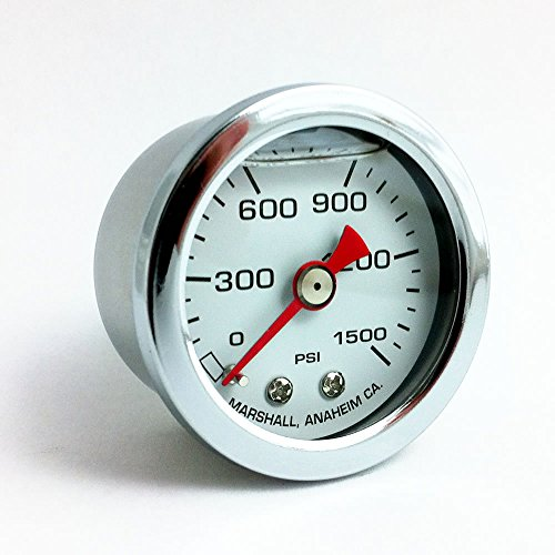 CW01500 Liquid Filled Nitrous Pressure Gauge