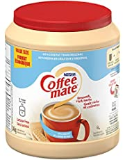 COFFEE-MATE Powder Light (50% Less Fat), Coffee Whitener, 1.4kg Canister