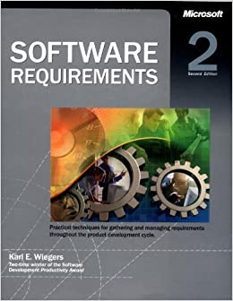 Karl e wiegers software requirements 2nd edition 7119314546.