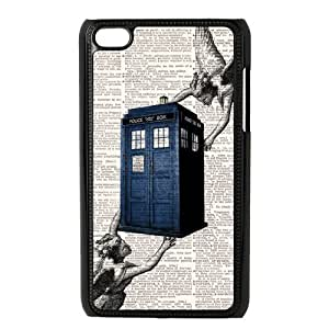 Doctor Who Tardis Police Box Ipod Touch 4 Case Hard Plastic Doctor Who Ipod Cover HD Image Snap ON