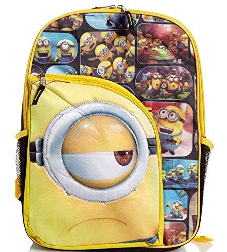 Despicable Me Minions 16 Front Pocket Backpack [並行輸入品]   B078WV6RKT