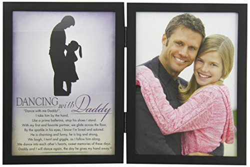 The Grandparent Gift Co. Silhouette Frames Dancing with Daddy -