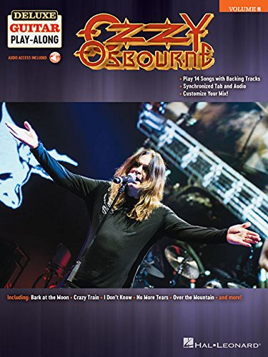 Ash Deluxe Guitar - Ozzy Osbourne: Deluxe Guitar Play-Along Volume 8 Bk/Online Audio