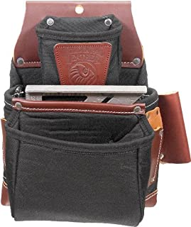 product image for Occidental Leather B8060 OxyLights 3 Pouch Fastener Bag - Black