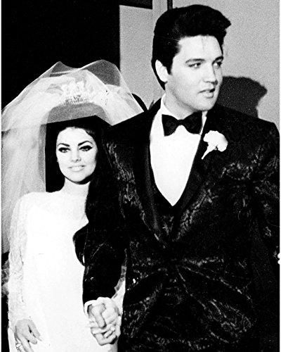 Globe Photos ArtPrints Elvis And Priscilla Presley At Their Wedding - 8