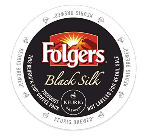 Folgers Black Silk K-Cups for Keurig Brewers, 18 Count (Packaging May Vary)