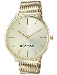 Nine West NW1980CHGB Reloj de Diseñador para Mujer
