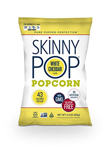 SkinnyPop Popcorn, White Cheddar, 4.4 oz (Low Sodium Popcorn compare prices)
