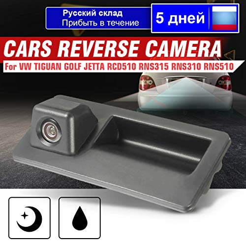 KeoKasu - Car Rear View Cameras Reversing Reverse Camera For VW/JETTA/TIGUAN /RCD510 /RNS315 /RNS310 /RNS510 from KeoKasu