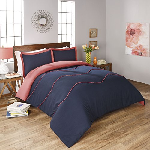 Compare Price Navy Blue Coral Bedding On Statements Ltd