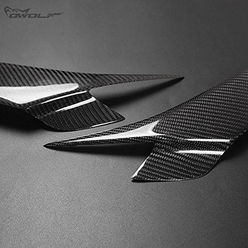 V/éritable en fibre de carbone sourcils Paupi/ères Masque de phare