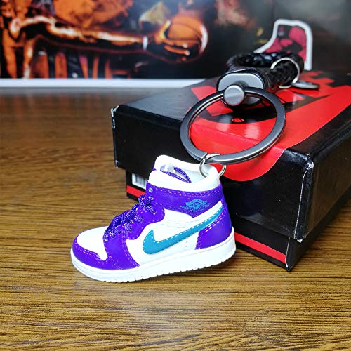- Fashion Mini Sneaker 3D Keychain Figure AJ1-20【1:6】 with Box for Christmas Gift-1pcs 1 Pieces