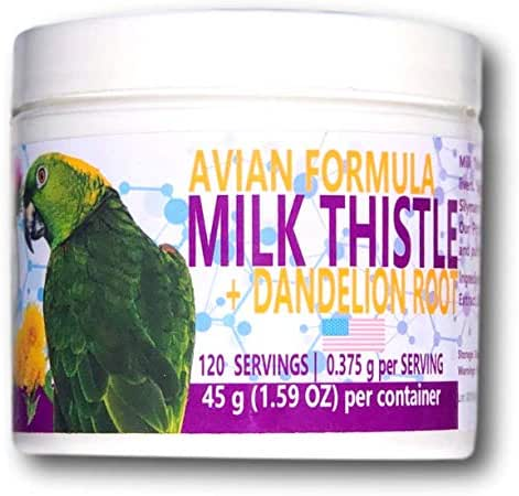 Milk Thistle + Dandelion Root Powder (120 Servings)