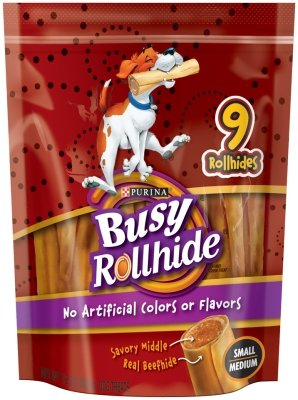 Busy Rollhide 5x12 OZ SMALL/MEDIUM POUCH by Purina