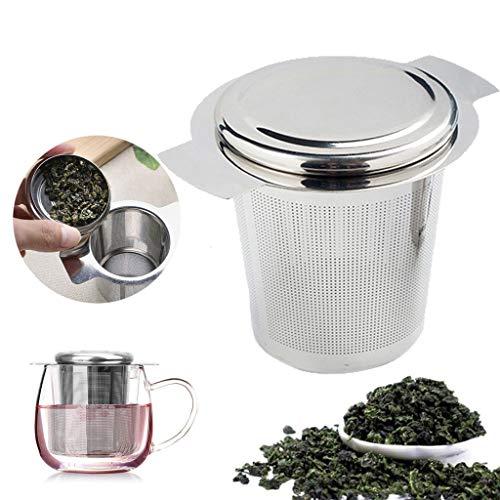 Little Story Stainless Steel Mesh Tea Infuser Metal Cup Strainer Loose Leaf Grain Filter -