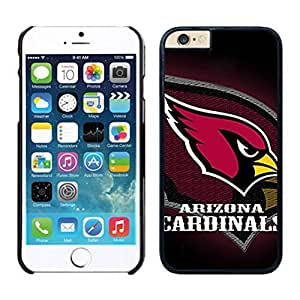NEW DIY Unique Designed Case For Iphone 6 Arizona Cardinals iPhone 6 Black 4.7 TPU inch Phone Case 012