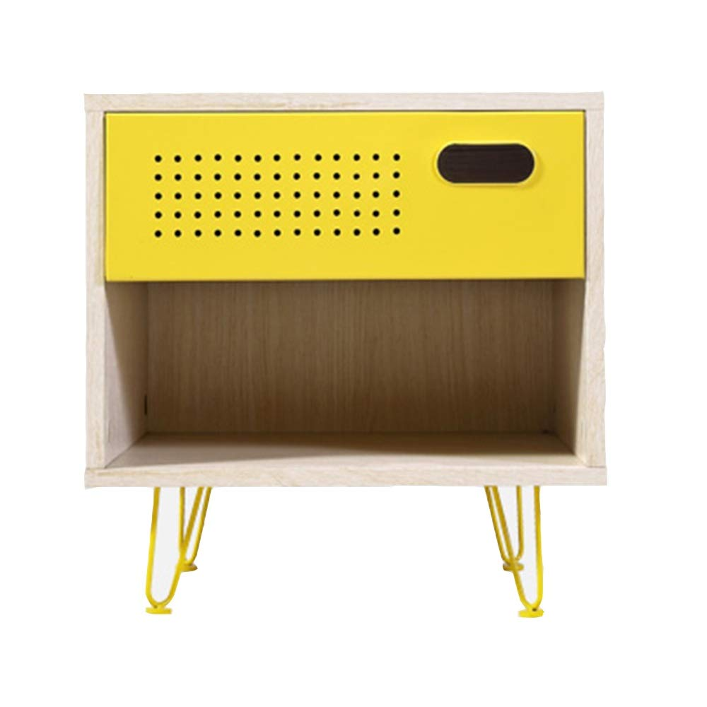 LQQGXLBedside Table Bedside Table Children's Bedroom Sleek Minimalist Bedside Table Small Side Table by LQQGXL
