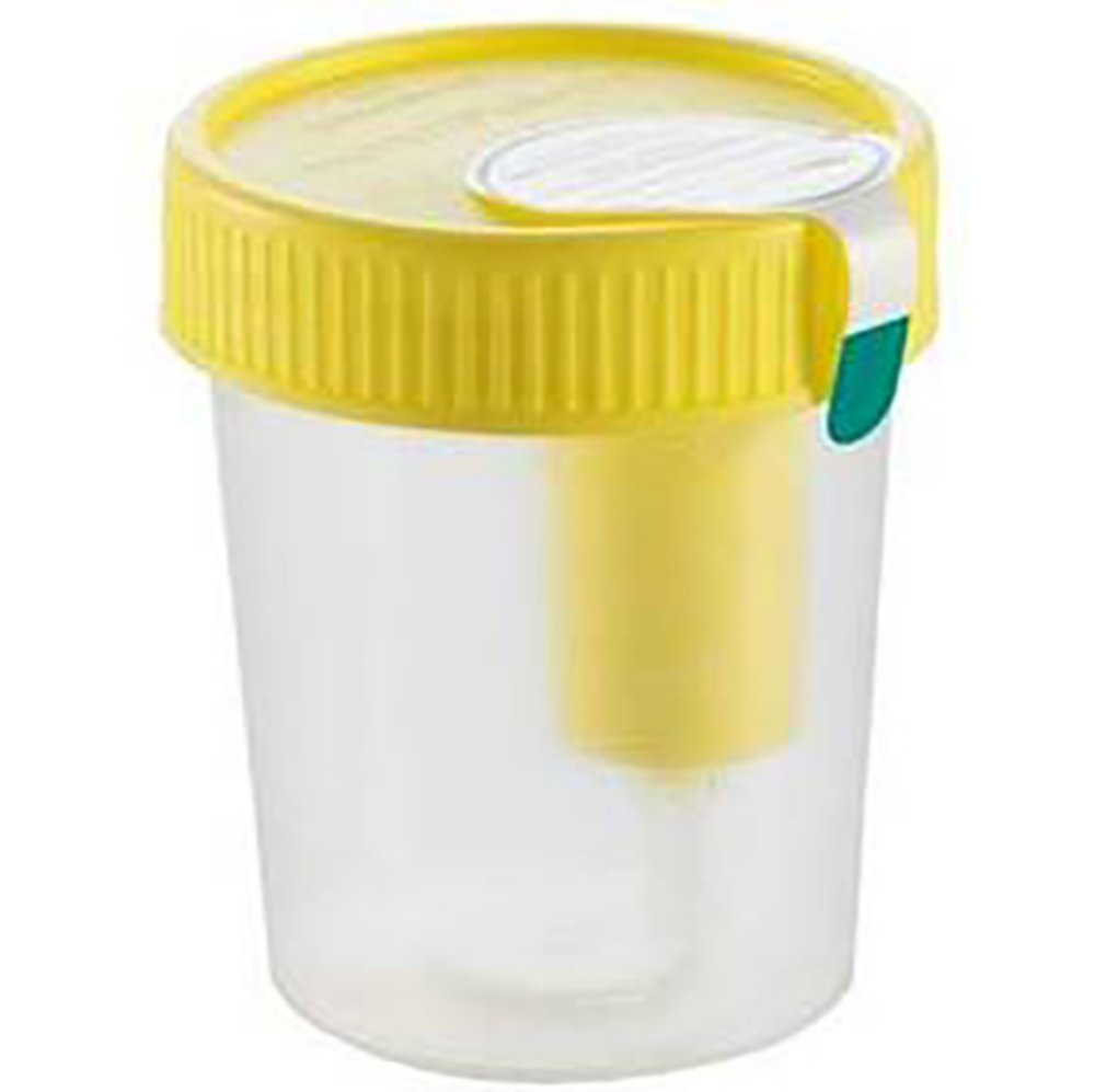 120 mL Labelled Urine Beaker with Integrated