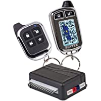 Scytek Astra 777-C 2-Way Paging Car Alarm Vehicle Security System with Carbon Fiber and LCD Remote Control