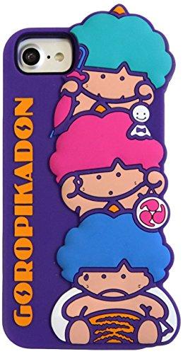 [ヨーイ] [SANRIO] サンリオ シリコン iPhoneケース ハローキティ タキシードサム ゴロピカドン パティ&ジミー フレッシュパンチ iPhone 8/7/6s/6 対応 YY-SR001