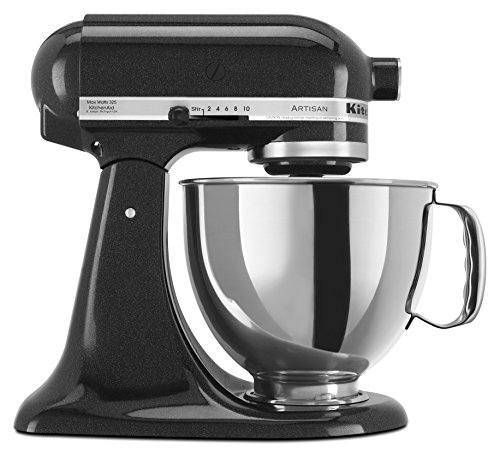 KitchenAid RRK150CV  5 Qt. Artisan Series Stand Mixer - Caviar (Renewed) (Measure For Measure As A Problem Play)