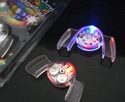 Light Up Mouthpiece - 2 pcs of MULTI COLOR Flashing
