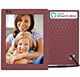 Nixplay Seed 8 Inch WiFi Cloud Digital Photo Frame with IPS Display, iPhone & Android App, iOS Video Playback, Free 10GB Online Storage, Alexa Integration and Hu-Motion Sensor – Mulberry (W08D) Review