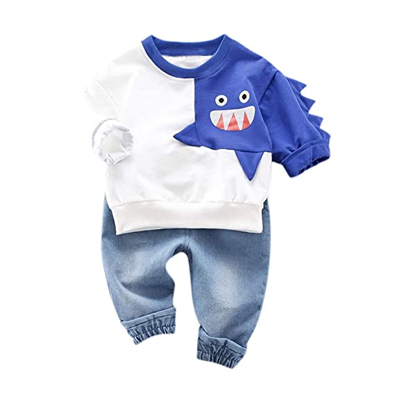 Chándal para bebé de 0 a 4 años, Completo para niña y niño, Camisa ...