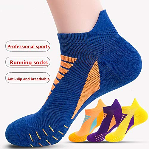 Running Socks Casual Low Cut Cycling Ankle Socks Outdoor Sports Socks 3 Pairs Large