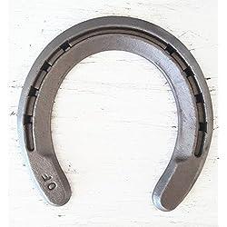 The Heritage Forge - 20 Horseshoes - Rim Shoe - Sand Blasted Steel O