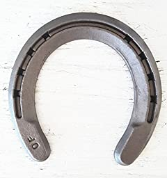 The Heritage Forge - 20 Horseshoes - Rim Shoe - Sand Blasted Steel O