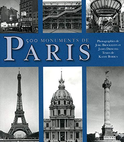 500 Notepads - 500 monuments de Paris (French Edition)