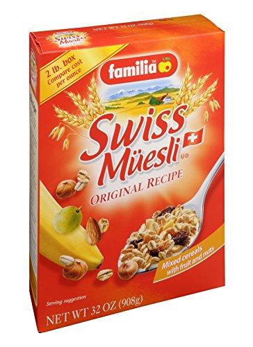 Familia Swiss Muesli Cereal, Original Recipe, 32-Ounce Box (Pack of 6)