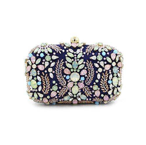SSMK Evening Bag, Poschette giorno donna multicolore Multicolor