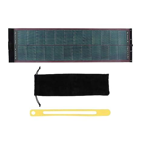 koulate Cargador de batería Solar para Exteriores ...