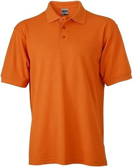 Trabajo Polo de manga corta para hombre, color Naranja - naranja ...