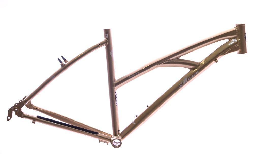 19'' Bridgeway 700c WFG Women's Hybrid / Comfort Bike Frame Gold NEW