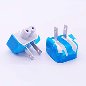 sReplacement Wall Folding Plug Duck Head for MacBook Air Pro Charger 45w 60w 85w 61W 87W 2Pack