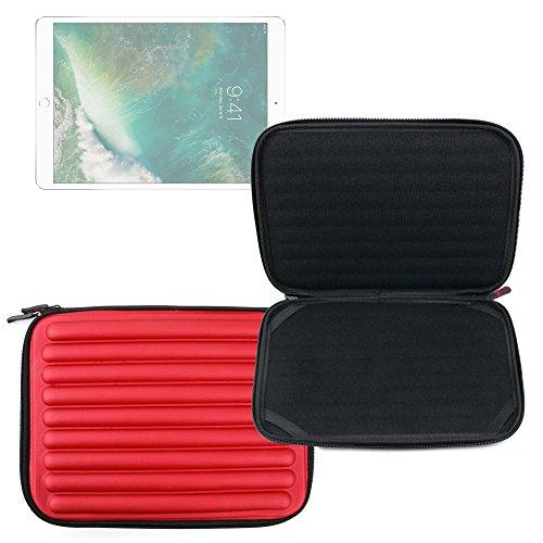 (DURAGADGET Red Memory Foam Case for Apple iPad (3rd Generation), iPad 2, Samsung Galaxy Tab 10.1 & Galaxy Tab 2 10.1 (GT-P5100 & P5110))
