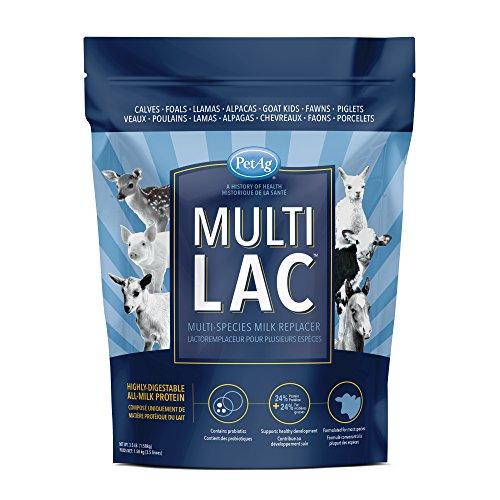 PetAg Multi-Lac Multi-Species Milk Replacer, 3.5 lb - Kid Milk Replacer